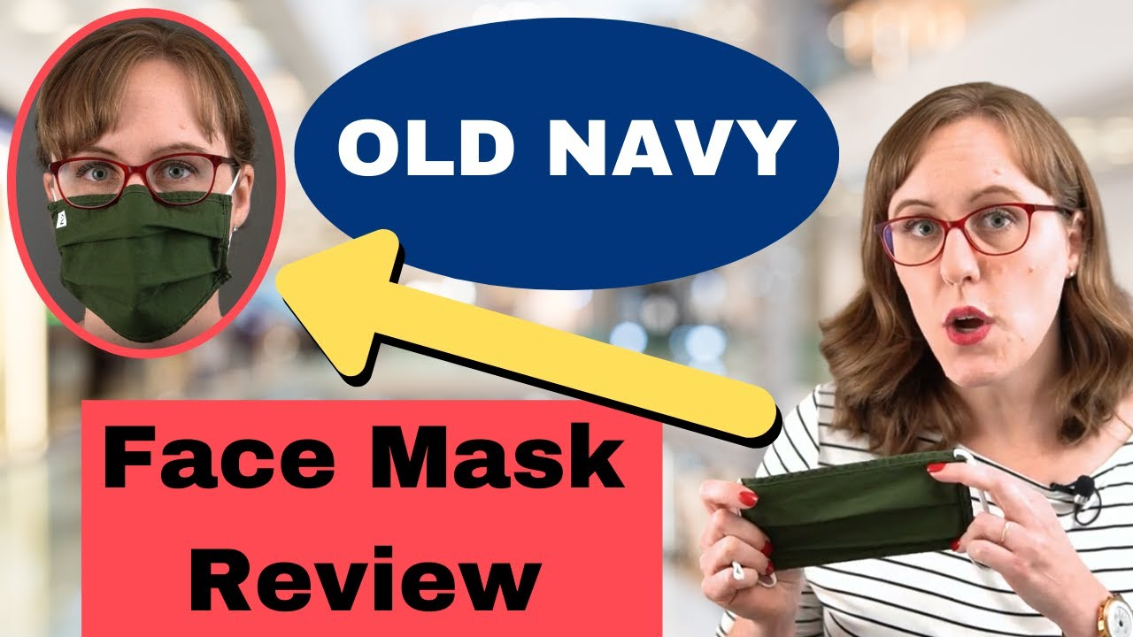 Old Navy face masks are 50% off (so is everything else)