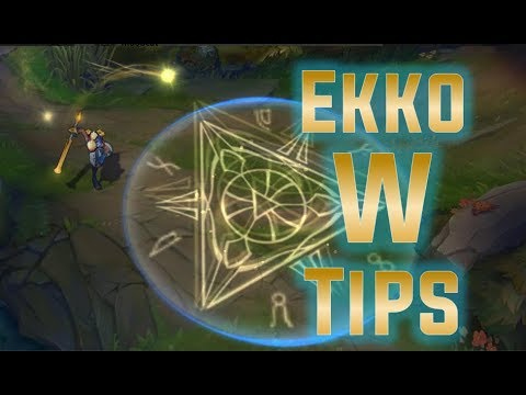 Ekkologix - Ekko W tips and tricks you probably didn't know!!! | First guide video xdd