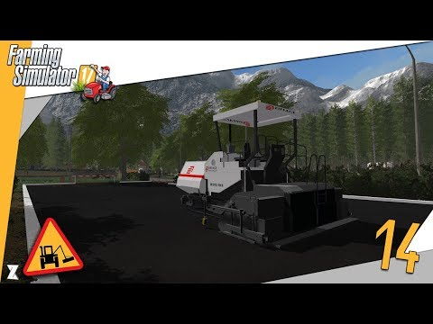 🚜 Farming Simulator 17 🎍 Entretien communal #14 Construction d'un parking !