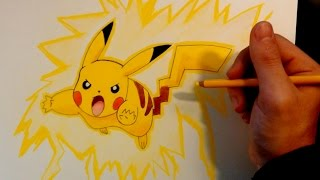 Cómo dibujar a Pikachu paso a paso | ArteMaster | Directo