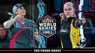 Full match from the 2020 indoor archery world series finals in las vegas, usa. recurve and compound archers shoot at a target 18 metres away. 10-ring is ...