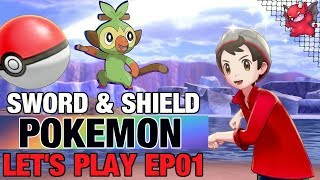 Pokemon Sword & Shield Let's Play EP:01