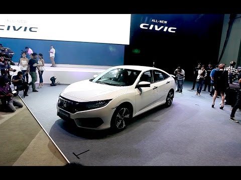 2016 All-new Honda Civic Thailand launched : เปิดตัว ฮอนด้า ซีวิค ใหม่ เจนเนอเรชั่นที่ 10