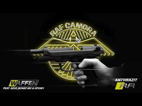 RAF Camora feat. UFO 361, GZUZ & Bonez MC - WAFFEN (Anthrazit RR) #07  Lyrics