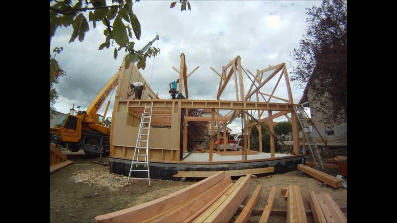 Construction mixte ossature bois et poteau poutre poitiers for Construction bois 86