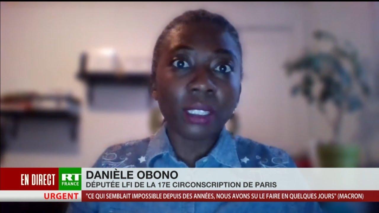 Danièle Obono (LFI) : «Le discours de Macron a donné une date de déconfinement mais pas les moyens»