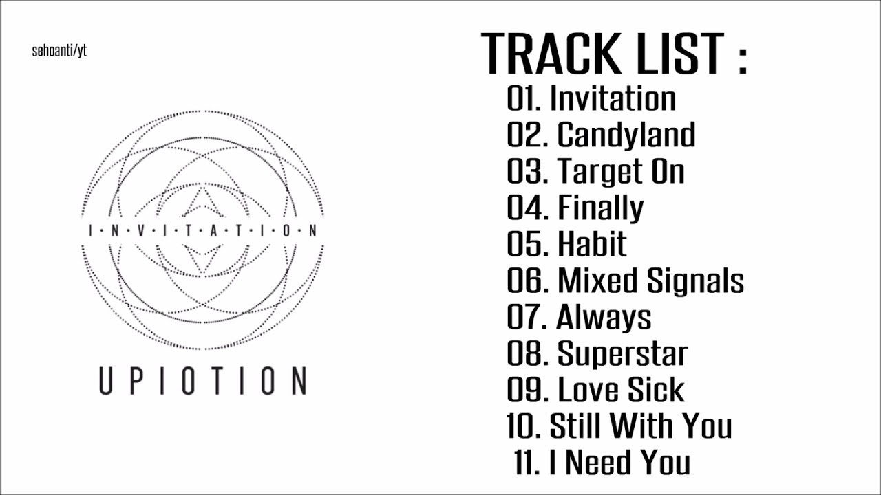 Up10tion 1st album invitation full album youtube up10tion 1st album invitation full album stopboris