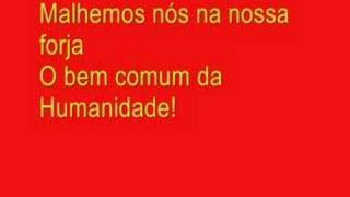 A Internacional-Coro Popular o Horizonte é Vermelho