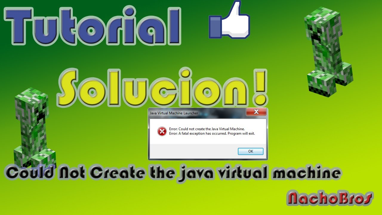 could not create the java machine craft