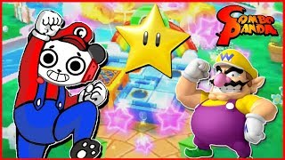 Mario Party Star Rush MINIGAMES Let's Play with Combo Panda