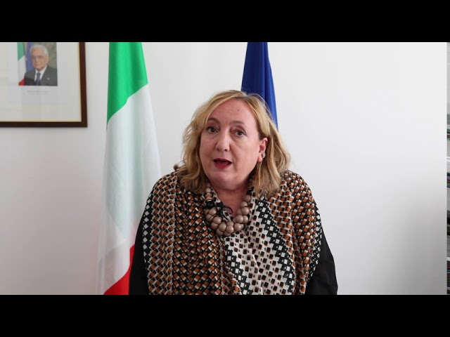 Emanuela Del Re, Vice Minister of Foreign Affairs and International Cooperation of Italy