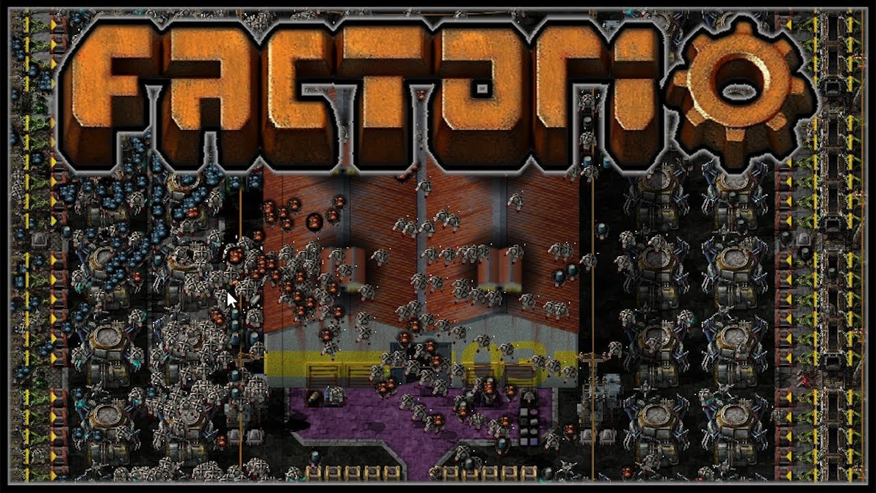 Factorio Recursion Recursion #21 - Megabase in a Box