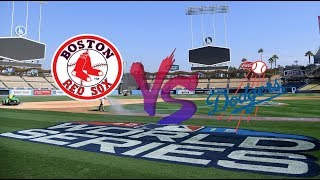 Red Sox VS Dodgers World Series Game 4 | Red Sox Lead Series 2 to 1 Live Stream