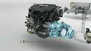 Technologie HYbrid4 : moteur hybride diesel - PSA Peugeot Citroën