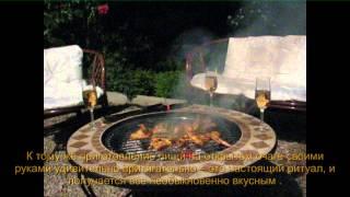 Мозаичные столы барбекю - видео-обзор от Greensad