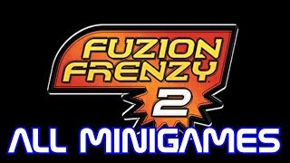 Cyber Plays: Fuzion Frenzy 2 - ALL MINIGAMES - Hard CPU