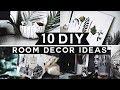 10 DIY Room Decor Ideas for 2019 (Tumblr Inspired) 💡 ✂️ 🔨 Minimal & Affordable!