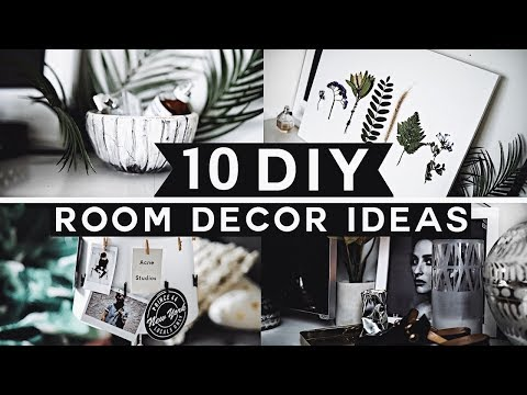 10 DIY Room Decor Ideas For 2019 (Tumblr Inspired) 💡 ✂️ 🔨 Minimal & Affordable!