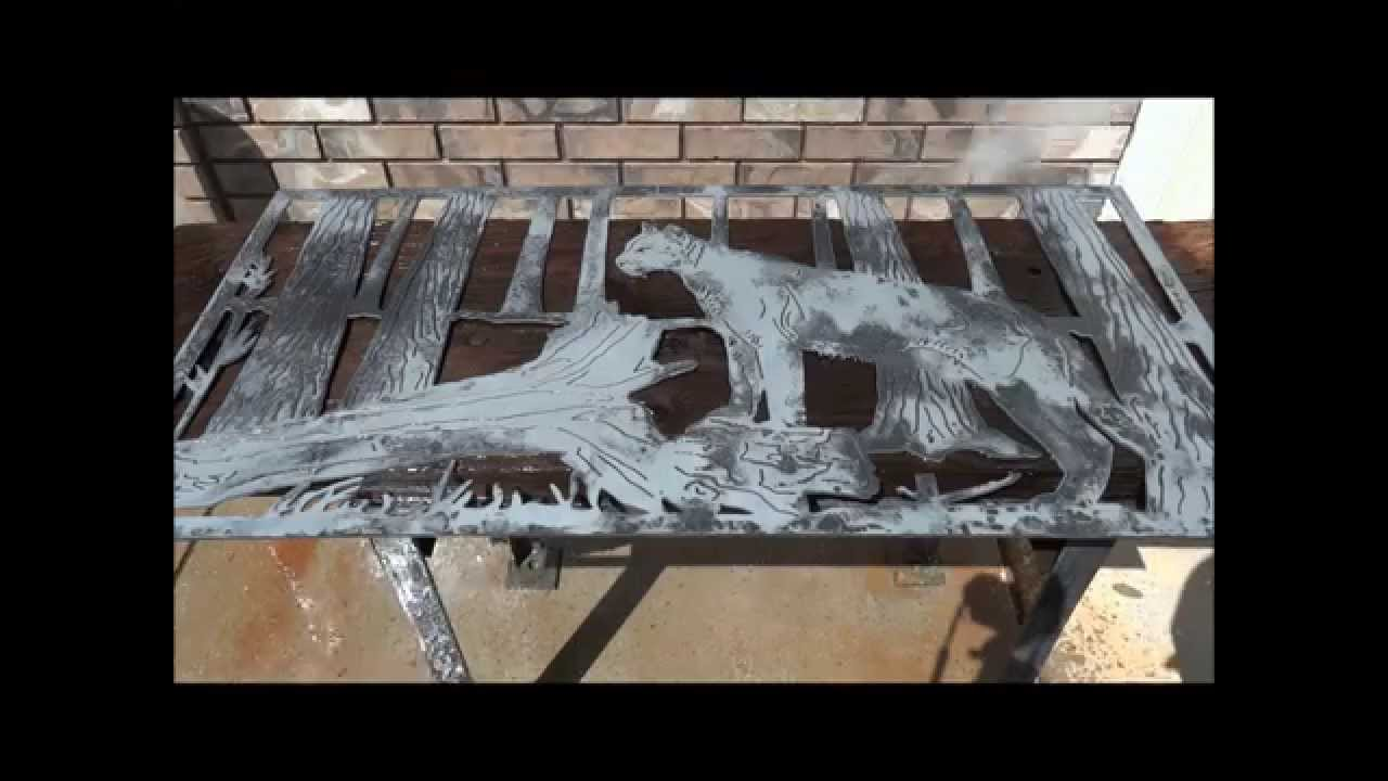 Removing Mill Scale With Muriatic Acid Youtube