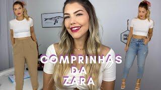 COMPRINHAS ZARA   Provando os looks