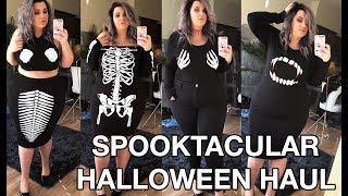 PLUS SIZE FASHION TRY ON HAUL | Spooktacular Halloween Haul! | Sometimes Glam
