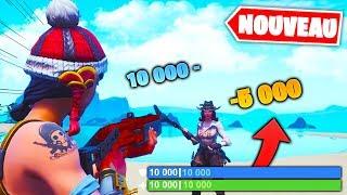 20.000 HP pour un Combat Incroyable ! Fortnite Créatif Game