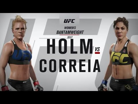 UFC Fight Night Live Event Pick & Main Event Fight - Holly Holm VS Bethe Correia.