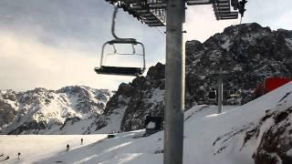 видео Лучший горнолыжный курорт Алматы