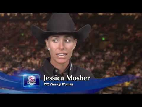 Jessica Mosher female pickup man, more precisely, a pickup lady.