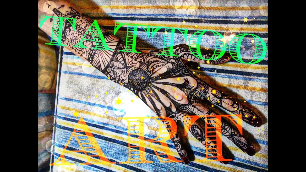 Inflicting Ink Tattoo Henna Themed Tattoos: DIY TATUAJE TEMPORAL CON HENNA, INK TATTOO ART ♥