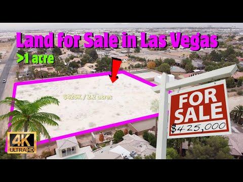 Land for Sale in Las Vegas (4K) - Real Estate Market & Home Building
