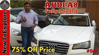 Pre Owned Audi A8 Luxury Car for Sale | Hidden Car Market Delhi | NewToExplore