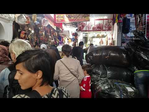 Walking in The Medina in Marrakech (no commentary)