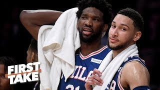 Is Joel Embiid more valuable to the Sixers than Ben Simmons? | First Take