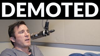 Chael Sonnen says Demetrious Johnson and Henry Cedujo have been demoted