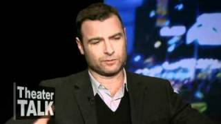theater talk a view from the bridge with actor liev schreiber and director gregory mosher