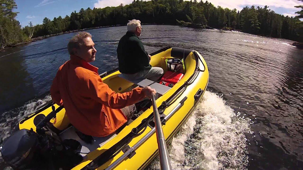 12 5 Aquamarine Inflatable Boat With Yamaha 9 9hp 4