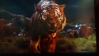 Shere Khan Vs Baloo The Jungle Book 2016 scene