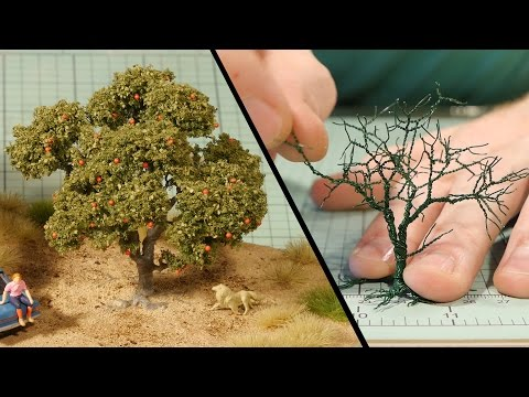 Wire Tree Tutorial – Model Railroad