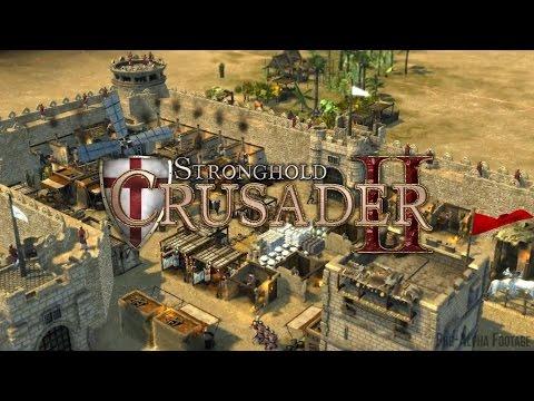 Stronghold Crusader 2 - Львиное сердце.3 часть - (Антиох)