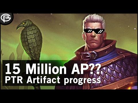 15 Million AP?? - New 7.2 Artifact Unlocks