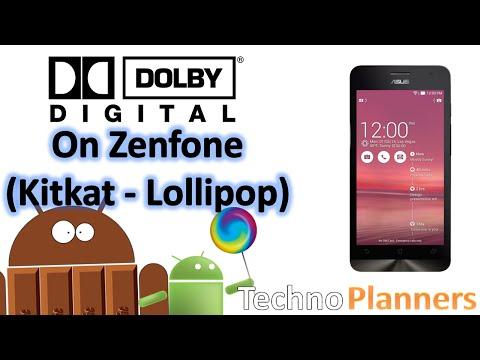 Install Dolby Digital Sound On Zenfone 5 (Kitkat - Lollipop)