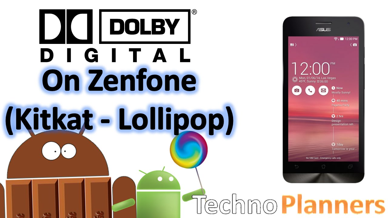 Free Apps Online: Install Dolby Digital Plus Sound on Zenfone 5
