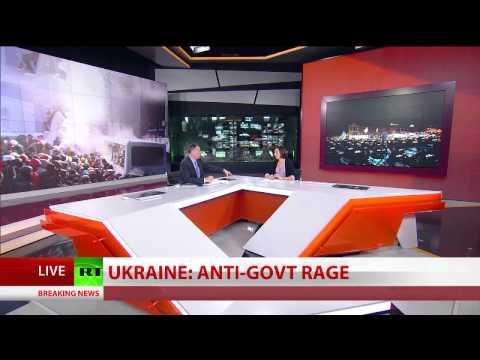 Riot Police in Kiev - Martial Law in Ukraine