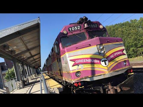 Amtrak & MBTA Trains - Compilation