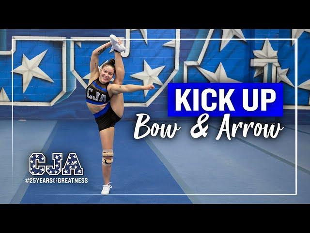 Kick Up Bow & Arrow
