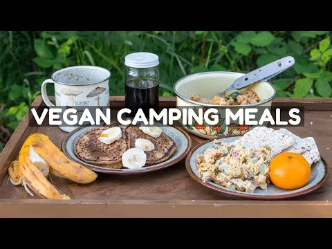 Vegan Camping Recipes ⛺️(Full Day Of Eating)