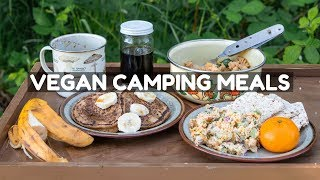 Vegan Camping Recipes ⛺️(Full Day of Eating)