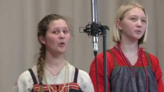 Детский фольклорный ансамбль ''Кладец'' - Песня о звёздах @ Библиотека ин. литературы 09.04.2017