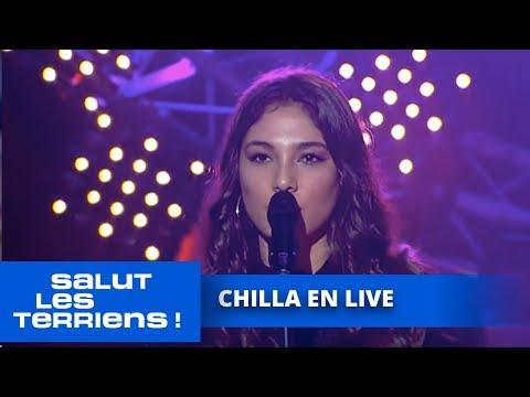 Chilla chante «Si j'étais un homme» en live - Salut les Terriens